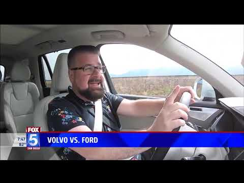 Nik Miles Volvo v Ford Fox 5nbsp