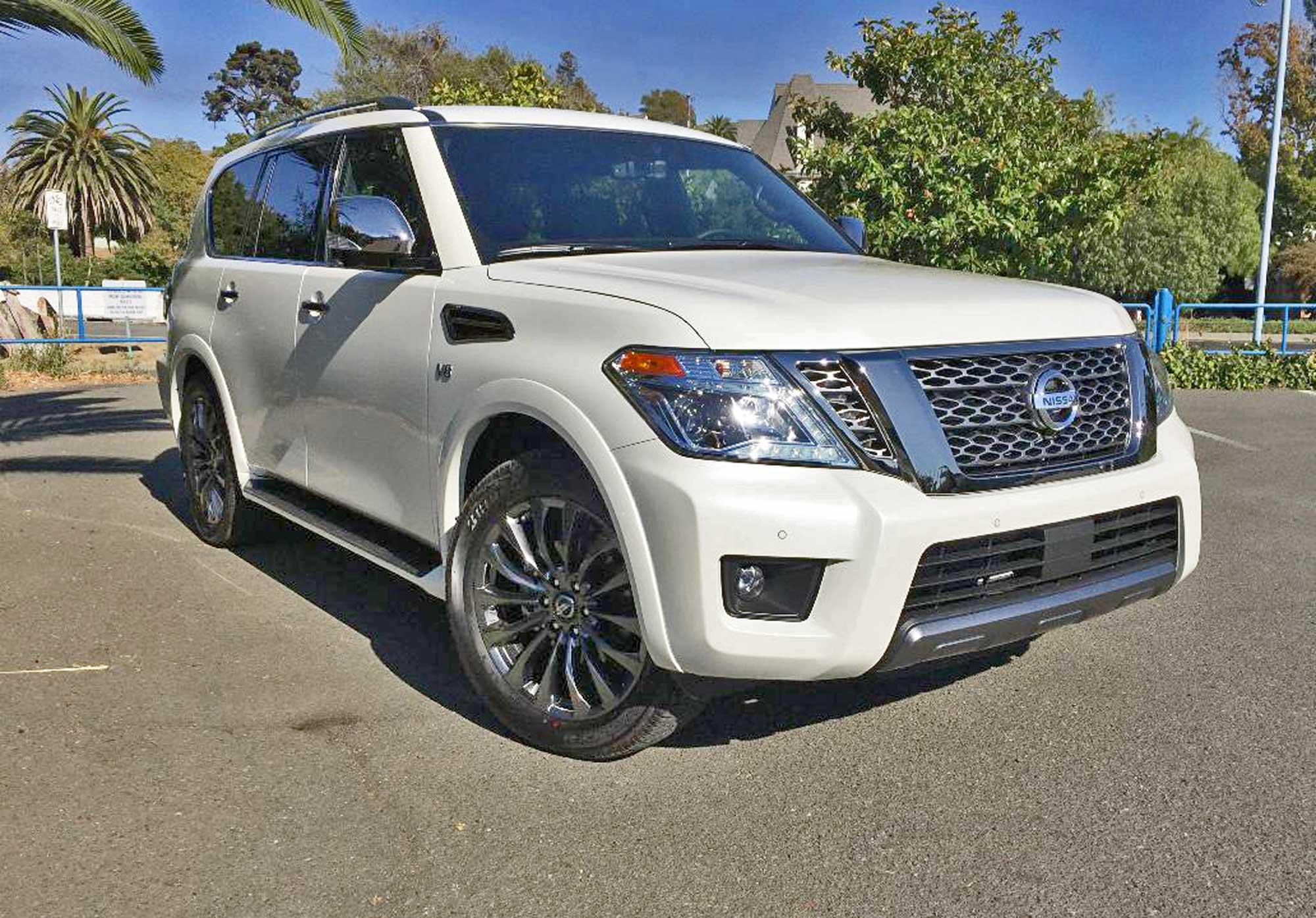 2020 Nissan Armada Platinum Reserve 4WD