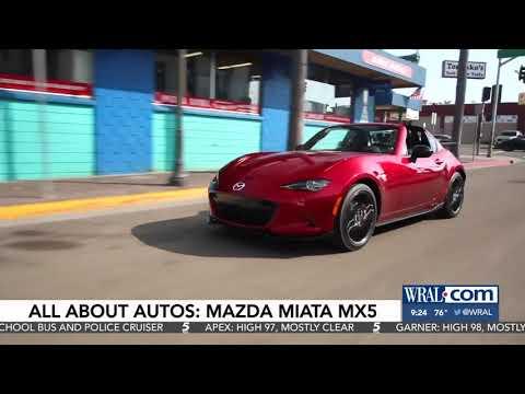 Nik Miles Mazda MX5 Miata WRALnbsp