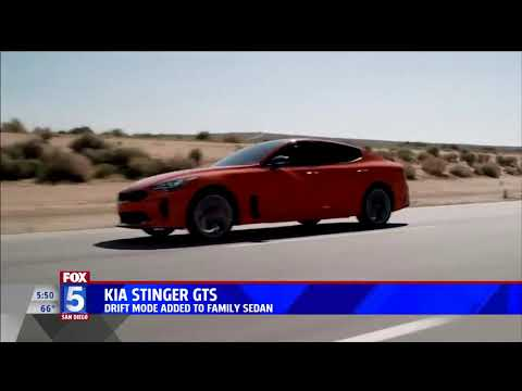 Nik Miles Kia Stinger GTS Fox 5nbsp