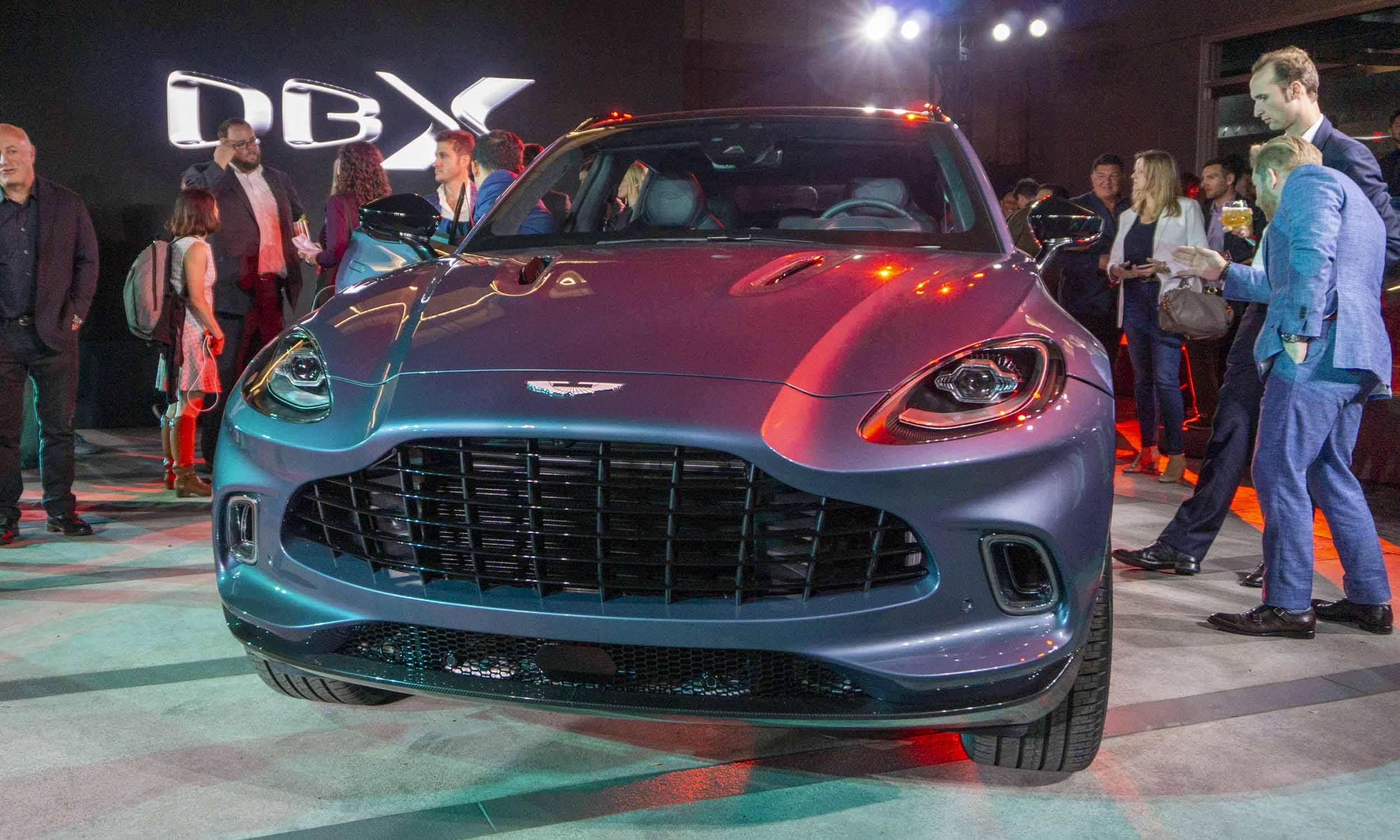 2021 Aston Martin DBX: First Look