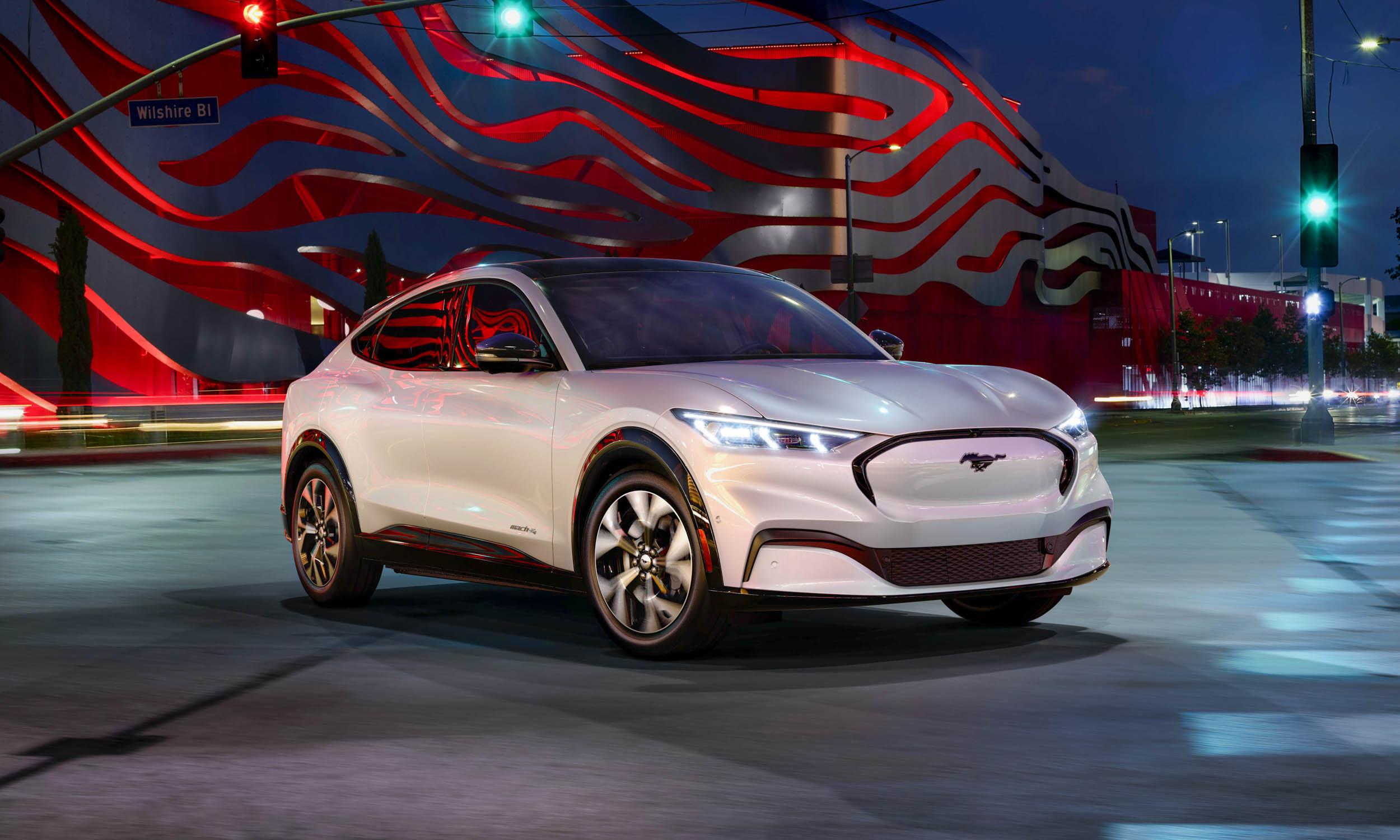 2021 Ford Mustang MachE First Looknbsp