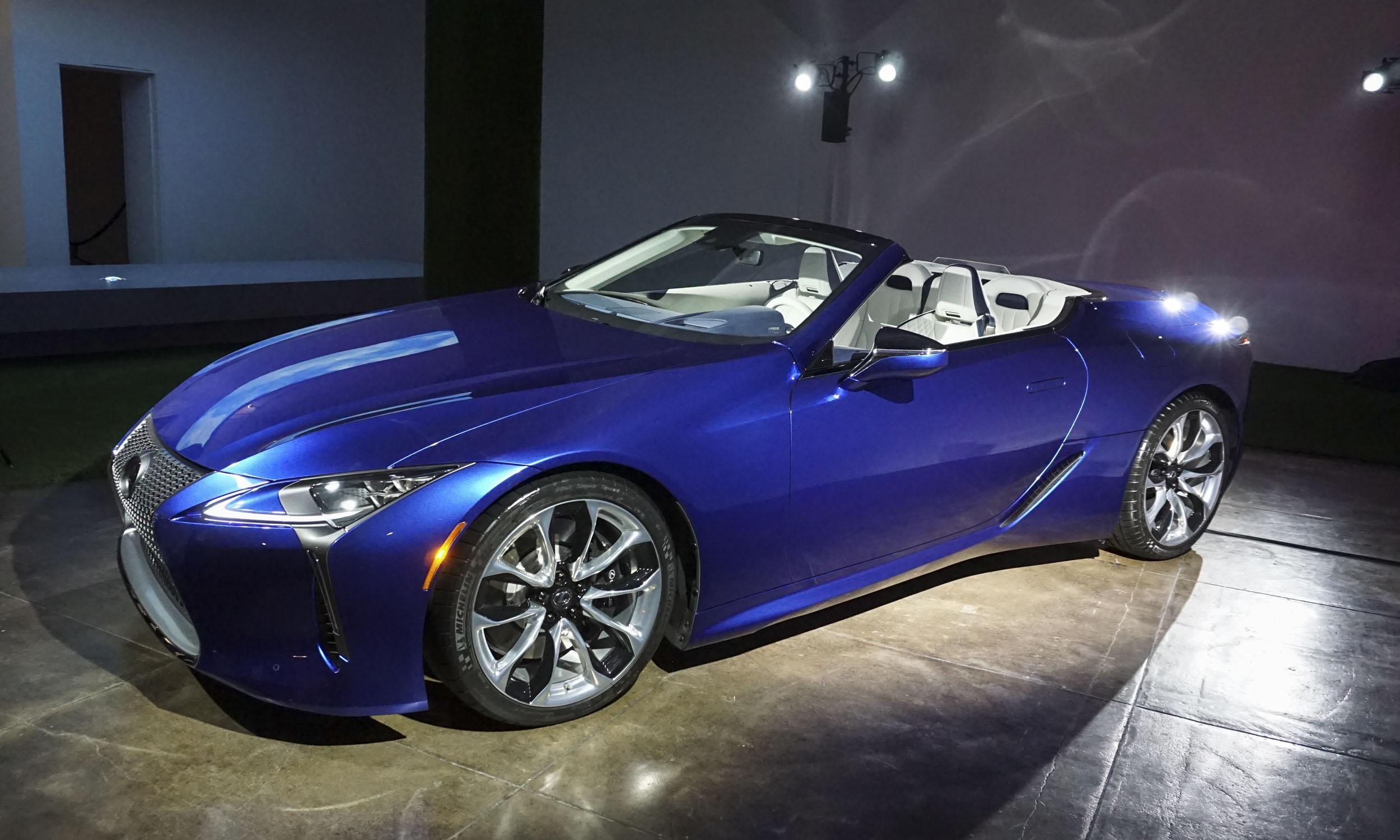 2021 Lexus LC 500 Convertible First Looknbsp