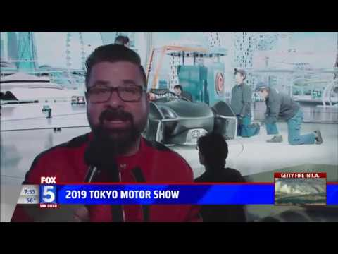 Nik Miles 2019 Tokyo Motor Show Fox 5nbsp