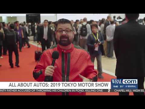 Nik Miles Tokyo Motor Show WRALnbsp