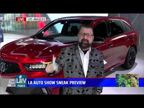 Nik Miles LA Auto Show 2 KSWB Fox 5nbsp