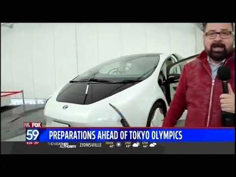 Nik Miles 2020 Olympics Vehicles Fox 59nbsp