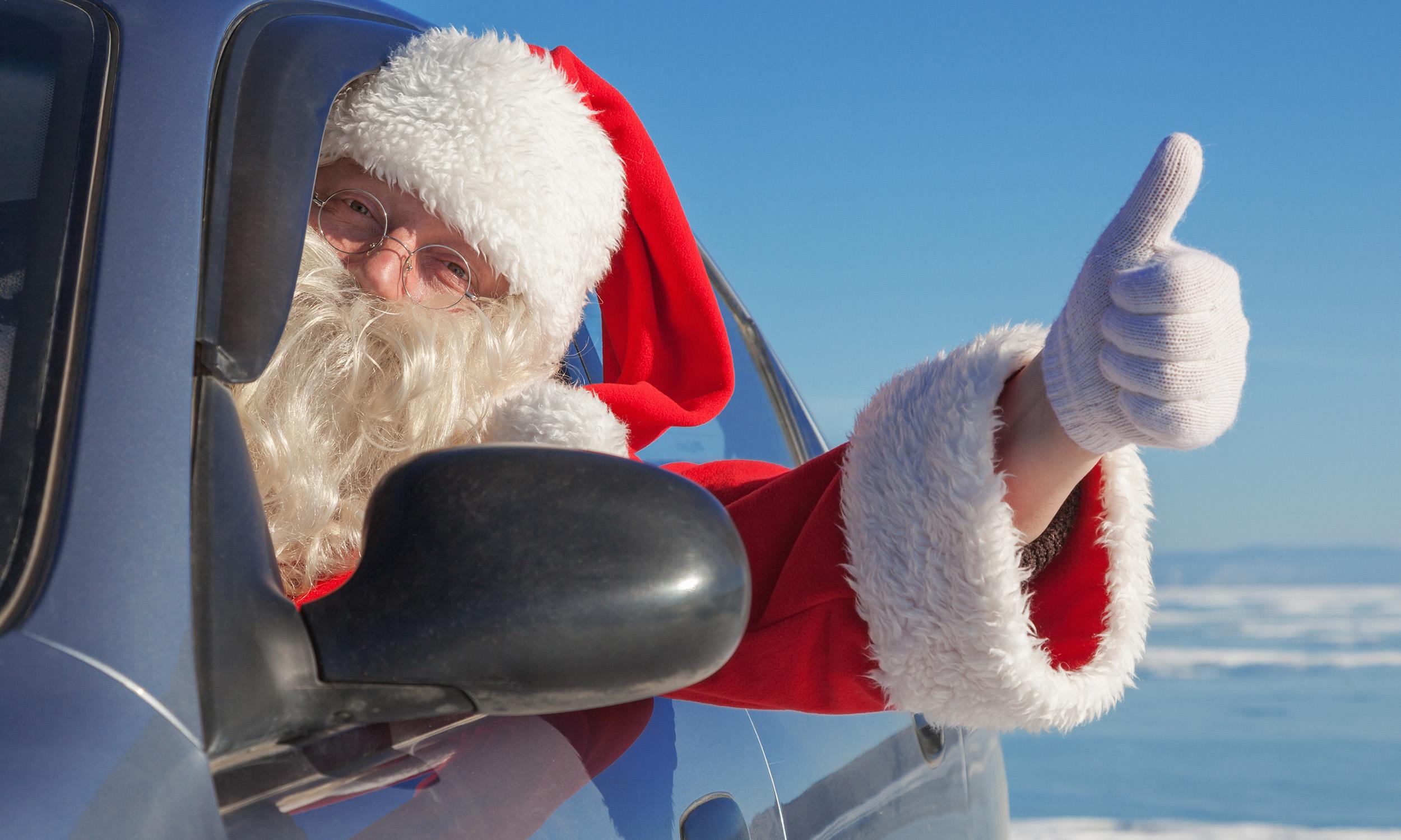 What Would Santa Drivenbsp
