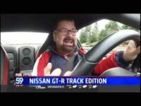 Nik Miles 2020 NIssan GTR Track Edition WXIN Fox 59