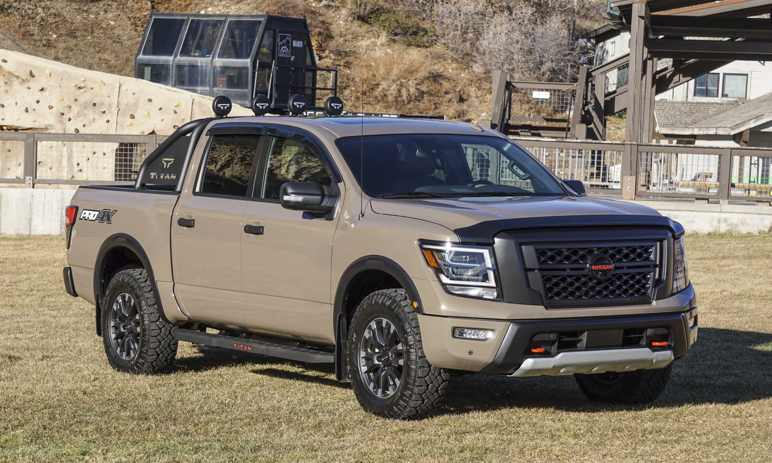 2020 nissan titan: first drive review | our auto expert