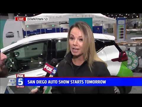 Nik Miles Energy Station San Diego International Auto Show KSWB Fox 5nbsp