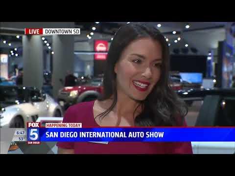 Nik Miles Toyota Mirai San Diego International Auto Show KSWB Fox 5nbsp