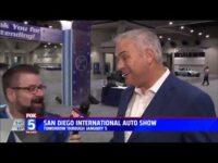 Nik Miles Bently GT San Diego International Auto Show KSWB Fox 5