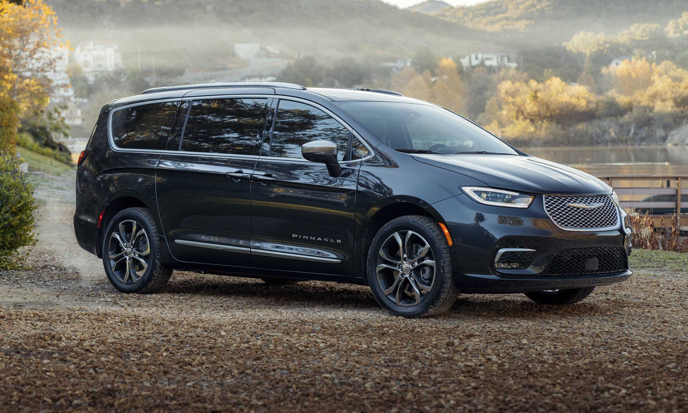 2021 Chrysler Pacifica First Looknbsp