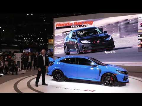 Honda Civic Type R Introduction Chicago Auto Shownbsp