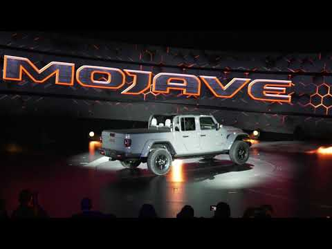 Jeep Wrangler and Gladiator Introduction Chicago Auto Shownbsp