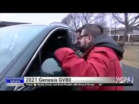 Nik Miles Chicago Auto Show WGN 745nbsp