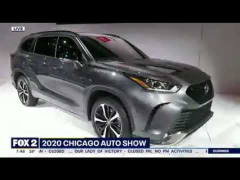 Mike Caudill Chicago Auto Show WJBK Fox 2nbsp