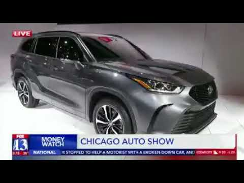 Nik Miles Chicago Auto Show KSTU Fox 13nbsp