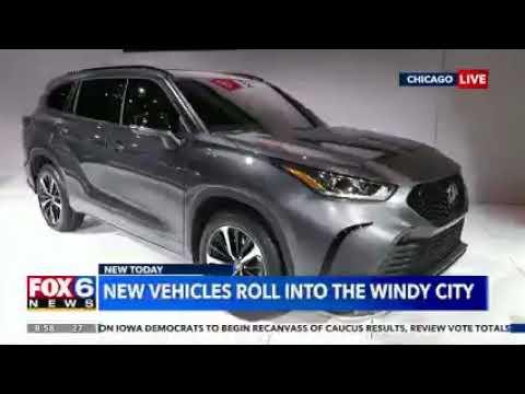 Nik Miles Chicago Auto Show WITI Fox 6nbsp