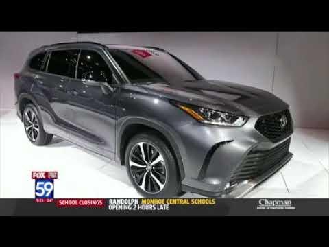 Nik Miles Chicago Auto Show WXIN Fox 59nbsp