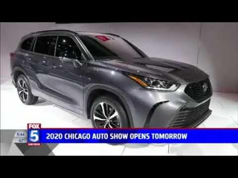 Nik Miles Chicago Auto Show KSWB Fox 5nbsp