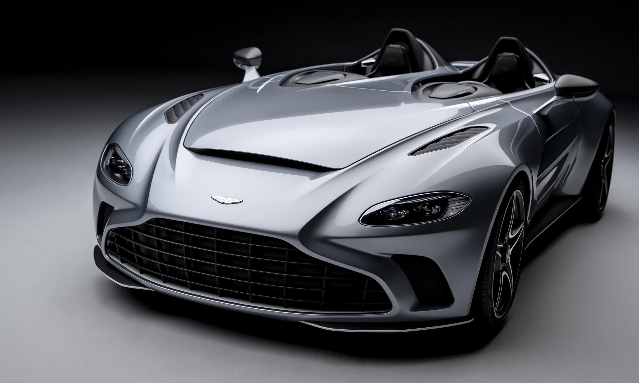 Aston Martin V12 Speedster: First Look