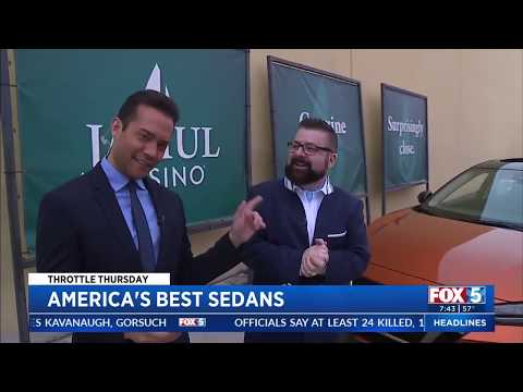 Nik Miles Best Sedans in America KSWB Fox 5nbsp