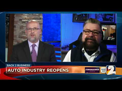 Nik Miles Auto Industry Reopens KWGN CW2nbsp