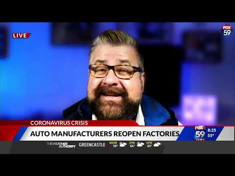 Nik Miles Auto Industry Reopens WXIN Fox 59nbsp