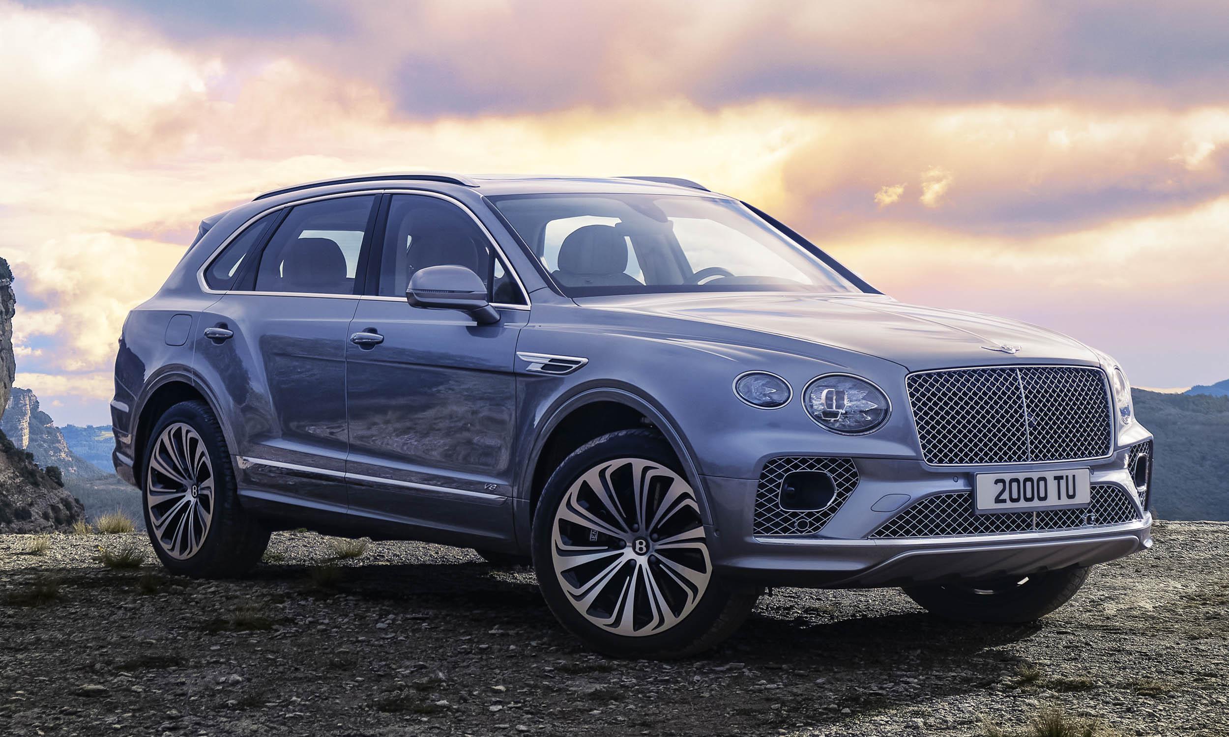 2021 Bentley Bentayga: First Look