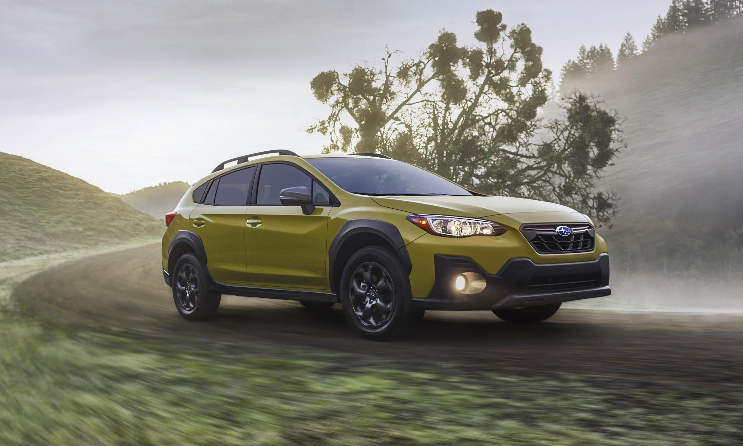 2021 Subaru Crosstrek First Looknbsp
