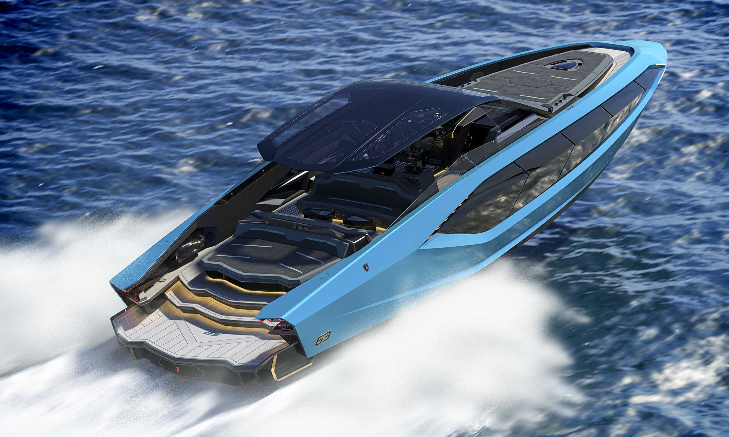 Lamborghini Motor Yacht Makes Big Splash