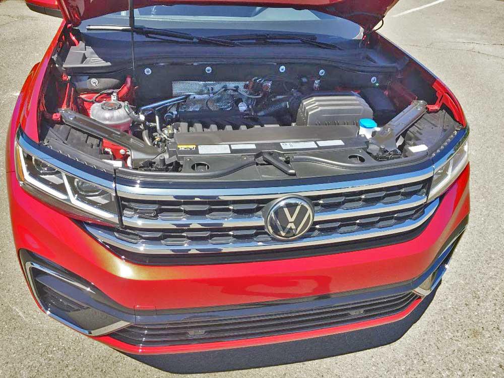 2020 Volkswagen Atlas Cross Sport SE V6 engine