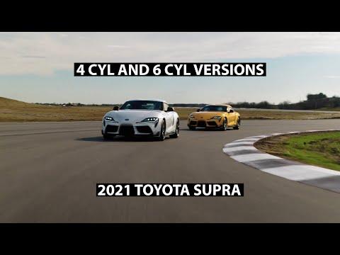 2021 Toyota Supras: 4 Cylinder vs. 6 Cylinder