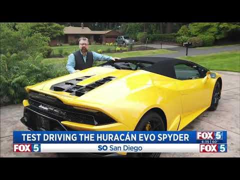 Nik Miles Huracan EVO Spyder KSWB Fox 5nbsp