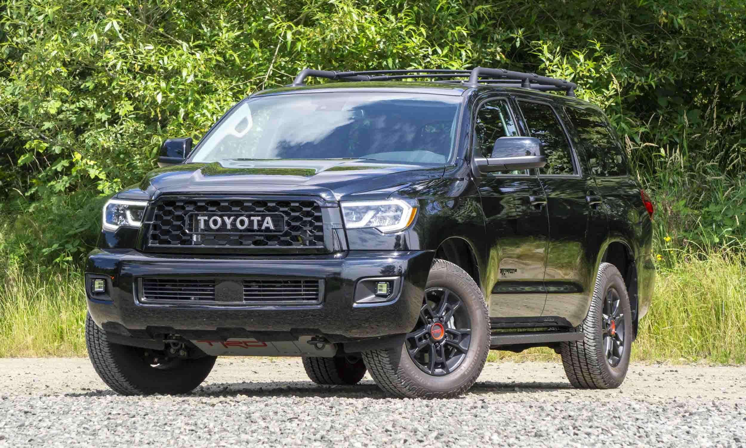 2020 Toyota Sequoia TRD Pro Reviewnbsp