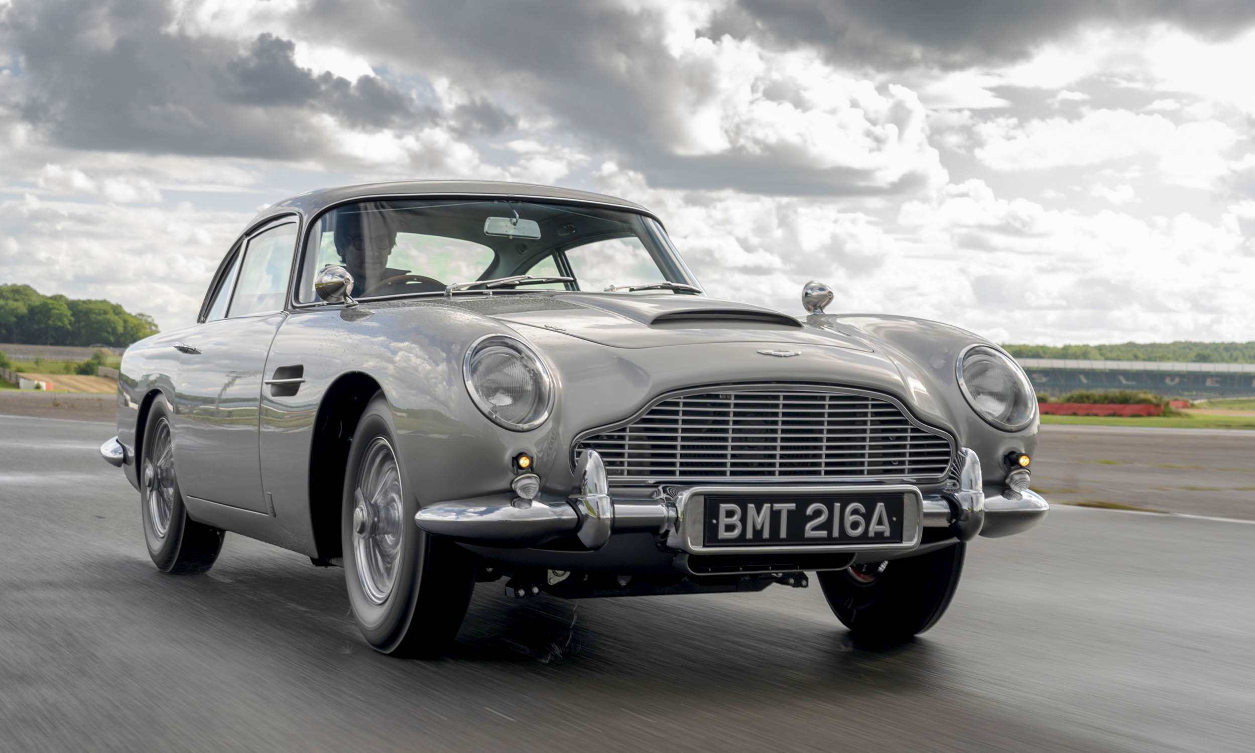 Aston Martin Creates First James Bond DB5