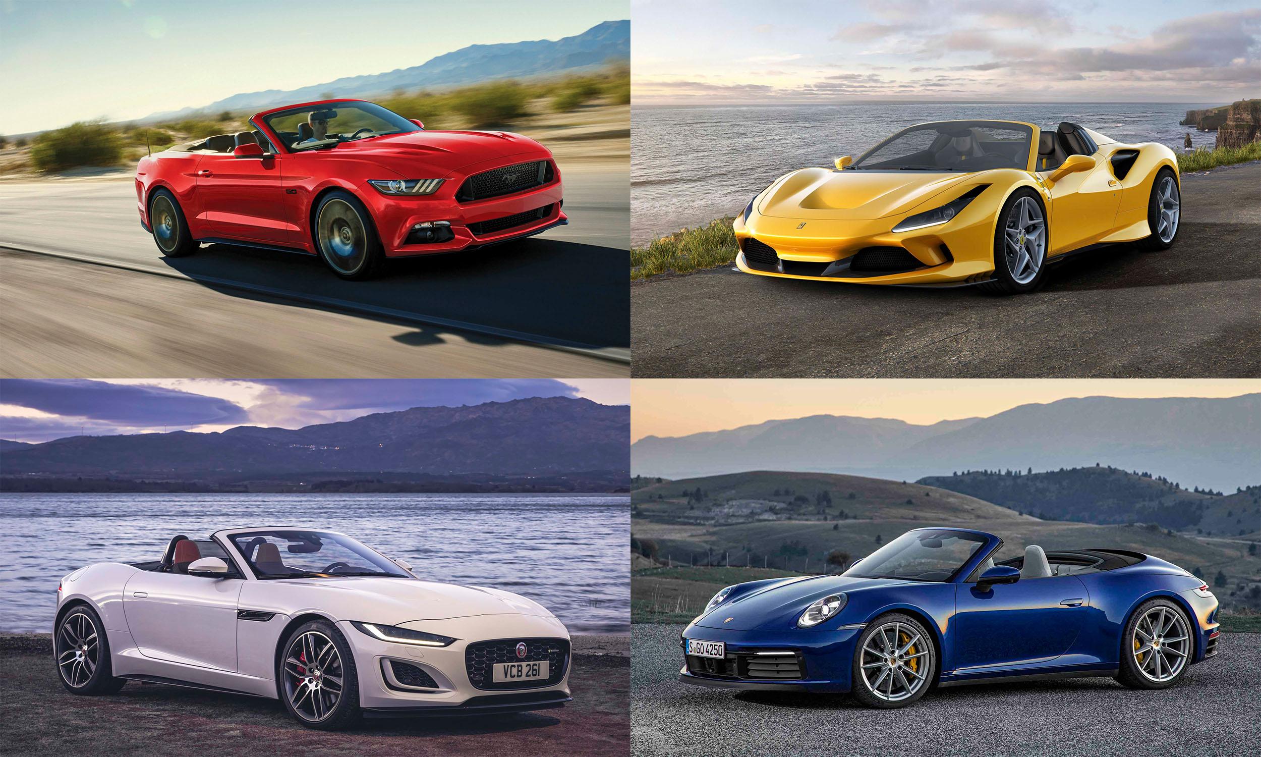 Convertible Sports Cars Fun in the Sunnbsp