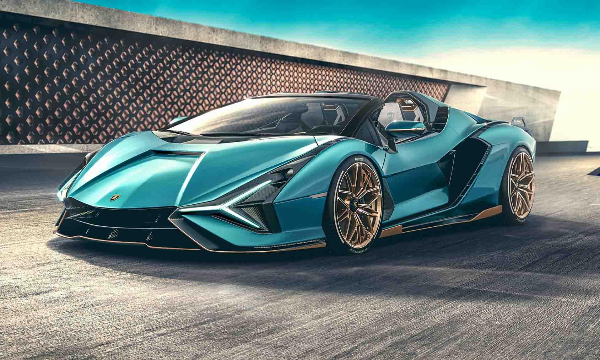 Lamborghini Sian Roadster: First Look