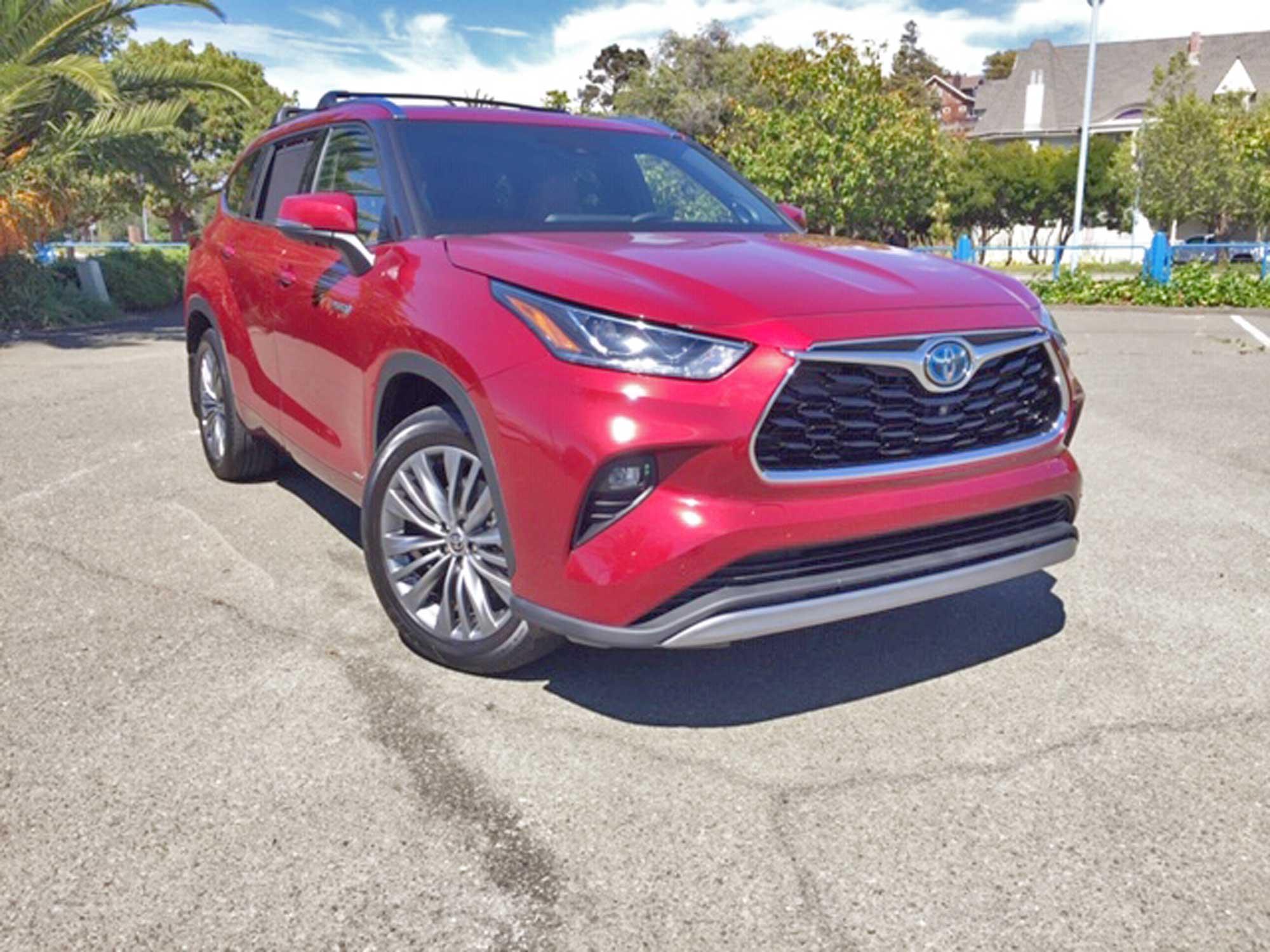 2020 Toyota Highlander Hybrid Platinum Limited AWD Test Drivenbsp