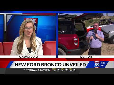 Nik Miles Live 2021 Ford Bronco WXIN Fox 59nbsp