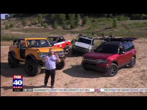 Nik Miles Live 2021 Ford Bronco KTXL Fox 40nbsp