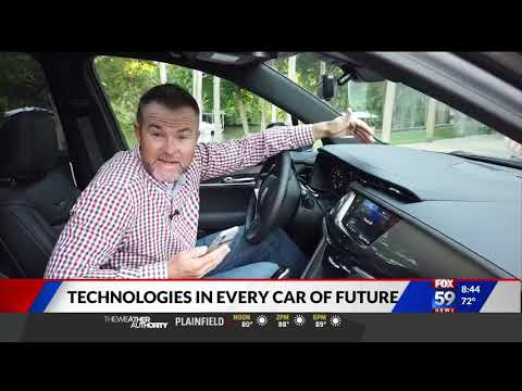Nik Miles and Mike Caudill Future Technology WXIN Fox 59nbsp