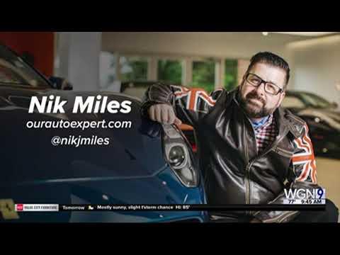 Nik Miles Live Peachtree Corners Curiosity Lab New Cars WGN 9nbsp