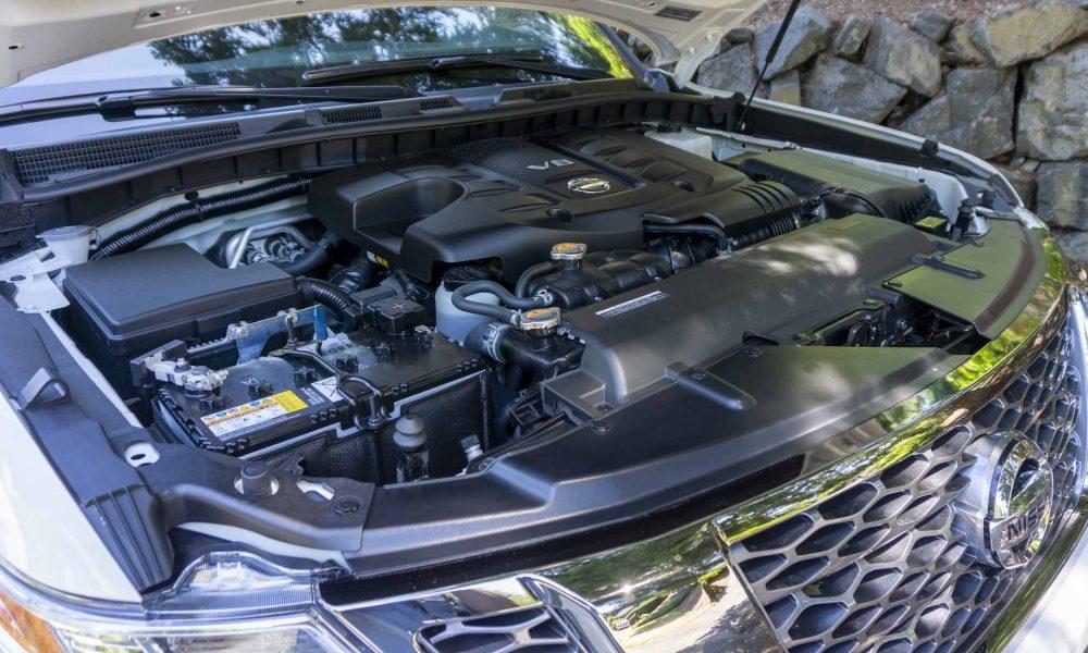 2020 Nissan Armada Platinum Reserve Engine