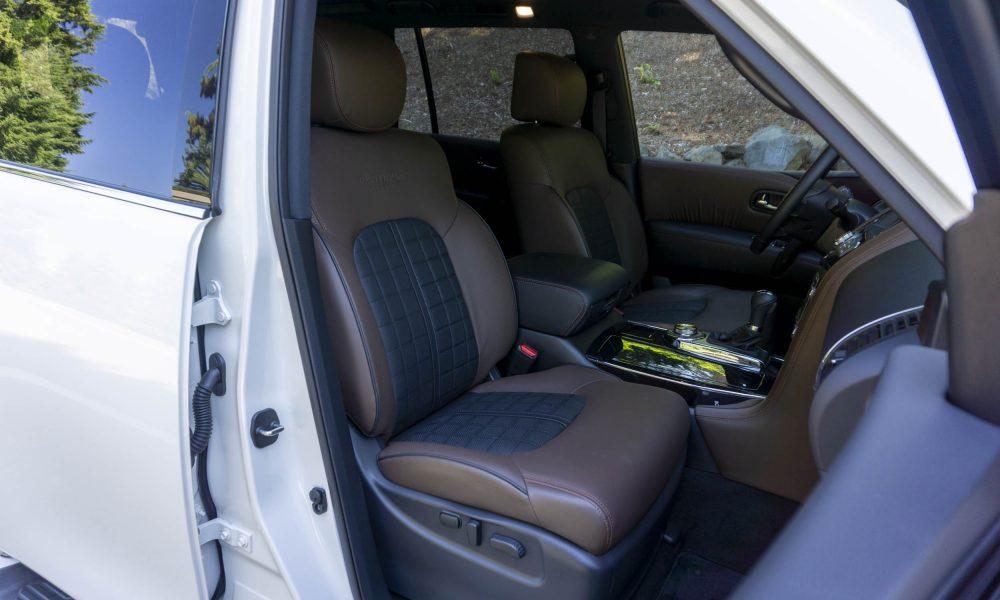 2020 Nissan Armada Platinum Reserve Second Row