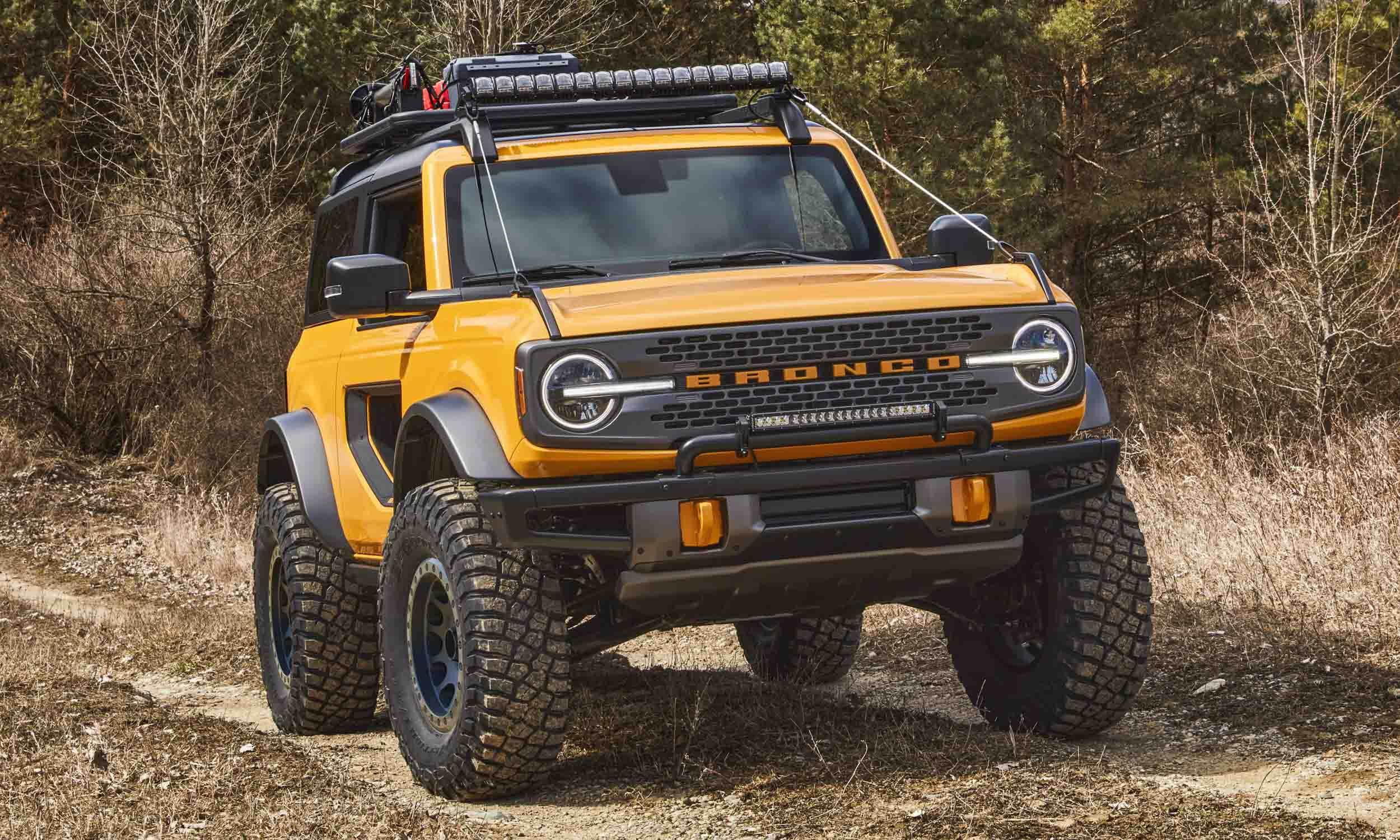 Ford Bronco Concepts Ready for OffRoad Adventurenbsp