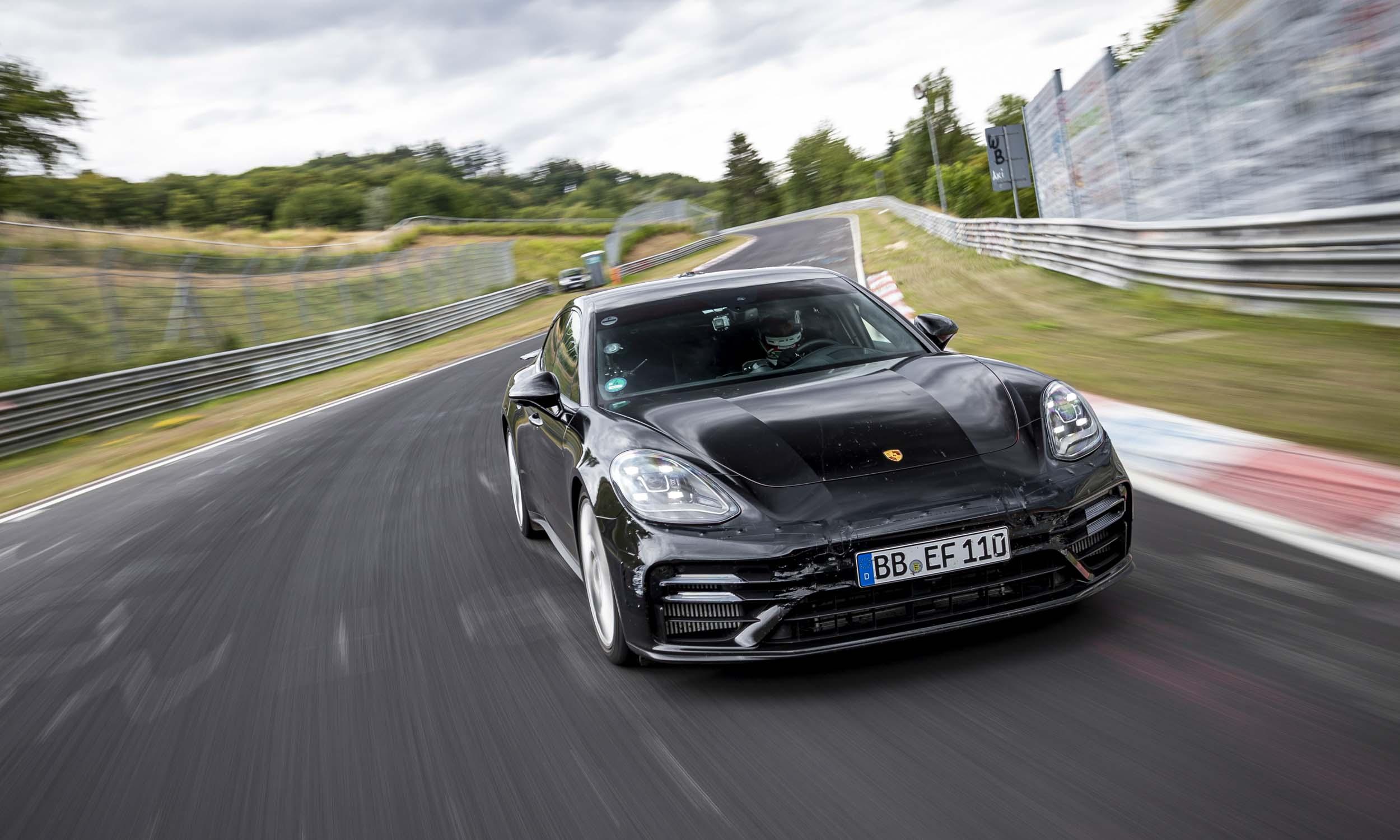 2021 Porsche Panamera Sets Record at Nurburgringnbsp