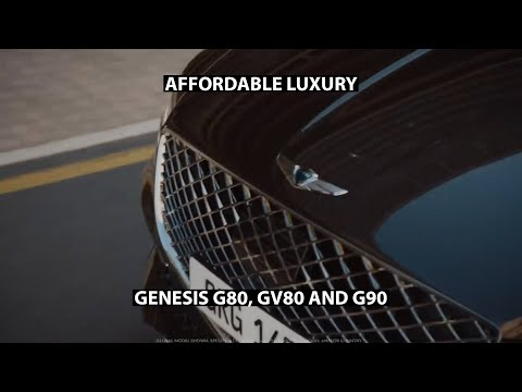 Genesis G80 GV80 and G90nbsp